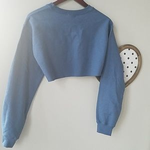 795dfa196 PrettyLittleThing Sweaters - PLT Indigo Ultimate Cropped Sweater (S) (NWT)